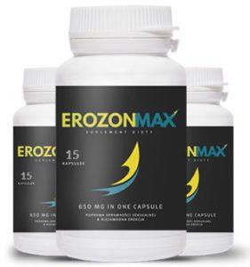 opakowanie erozon max 281x300 Erozon Max   nó có hoạt động theo cách nó được cho là? Hiệu quả và các phản ứng phụ? Đọc dưới đây!